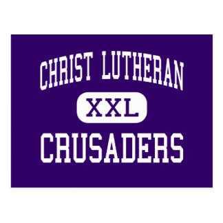 Christ Lutheran - Crusaders - High - Buckley Postcard