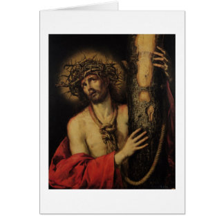 Christ, Man of Sorrows, 1641 (oil on canvas) Card