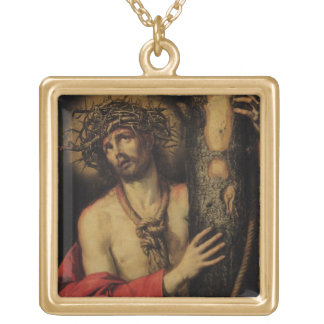 Christ Man of Sorrows 1641 oil on canvas Necklace