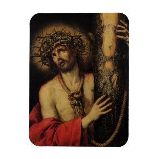 Christ, Man of Sorrows, 1641 (oil on canvas) Vinyl Magnet