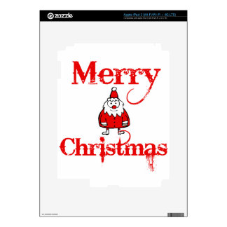 christ merry decal for iPad 3