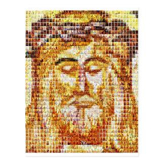 Christ - Modern and Ancient Postcard