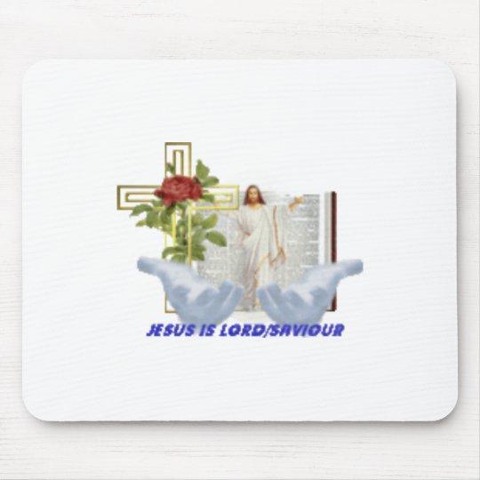 christ mouse pad