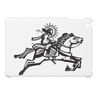 Christ on a Jumping Horse iPad Mini Cover