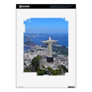 CHRIST ON CORCOVADO MOUNTAIN SKINS FOR iPad 3