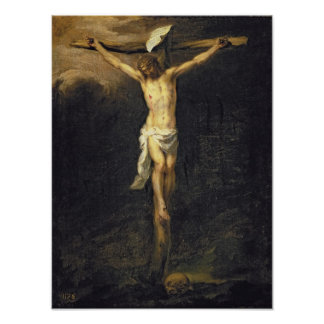 Christ on the Cross, 1672 Poster