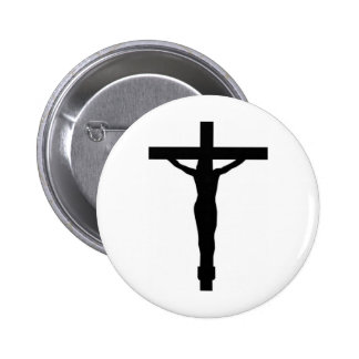 Christ On The Cross Pinback Buttons
