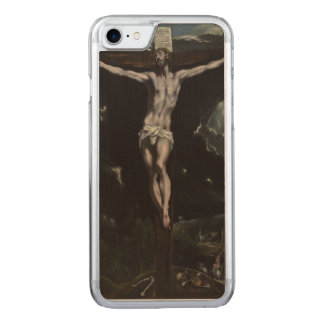 Christ on the Cross by El Greco Carved iPhone 7 Case