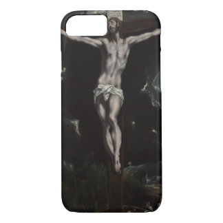 Christ on the Cross by El Greco iPhone 7 Case