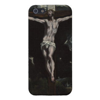 Christ on the Cross by El Greco iPhone SE/5/5s Cover