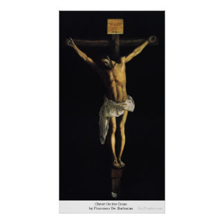 Christ On the Cross by Francisco DeZurbaran Poster