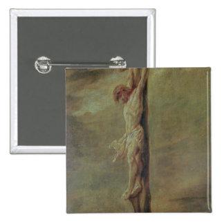 Christ on the Cross, c.1646 Pinback Button