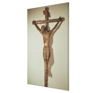"Christ on the Cross, called ""Le Devot Christ"" Canvas Print"