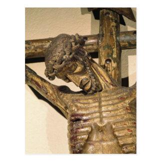 "Christ on the Cross, called ""Le Devot Christ"" Postcard"