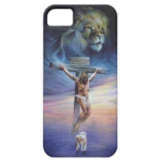 Christ on the Cross on iPhone 5/5S, Barely There iPhone SE/5/5s Case