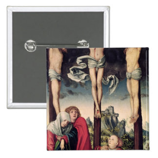 Christ on the Cross Pinback Button