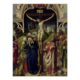 Christ on the Cross, the Holy Women Poster