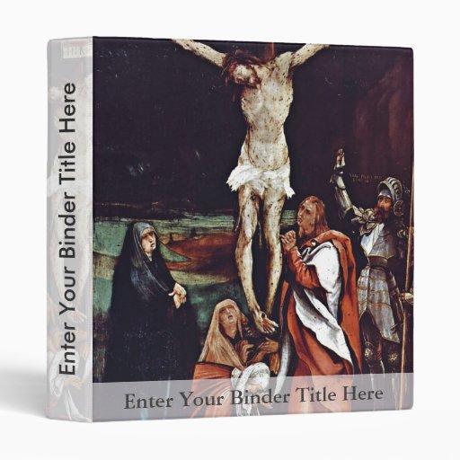 Christ On The Cross Three Marys St. John The Evang Vinyl Binders