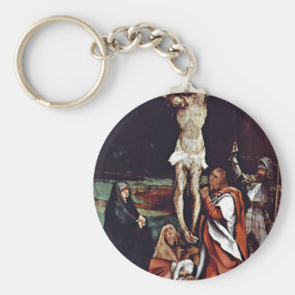 Christ On The Cross Three Marys St. John The Evang Key Chains