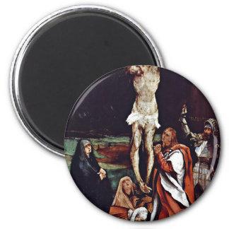 Christ On The Cross Three Marys St. John The Evang Fridge Magnets