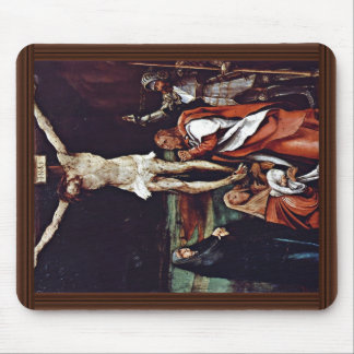 Christ On The Cross Three Marys St. John The Evang Mouse Pad