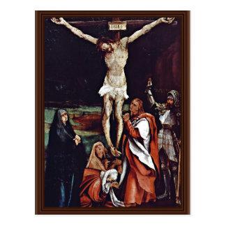 Christ On The Cross Three Marys St John The Evang Postcards