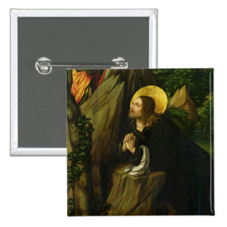 Christ on the Mount of Olives, 1505 Pinback Button