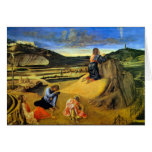 Christ on the Mount of Olives by Bellini Card