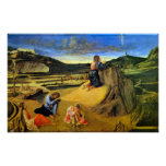 Christ on the Mount of Olives by Bellini Print