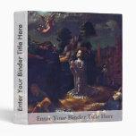 Christ On The Mount Of Olives By Gossaert Jan (Bes Vinyl Binder