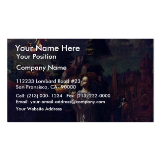 Christ On The Mount Of Olives By Gossaert Jan (Bes Business Cards