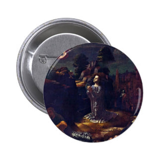 Christ On The Mount Of Olives By Gossaert Jan (Bes Buttons