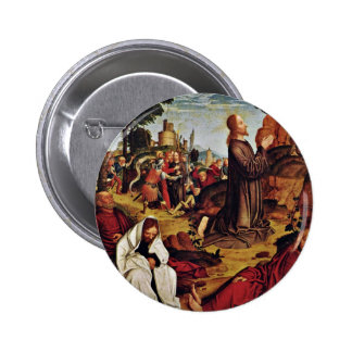 Christ On The Mount Of Olives By Meister Von St. S Buttons