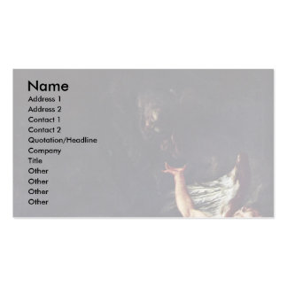 Christ On The Mount Of Olives By Troger Paul Business Card Templates