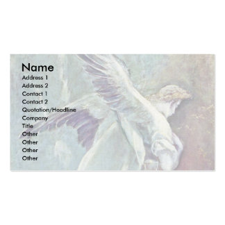 Christ On The Mount Of Olives, Detail By Greco El Business Card Templates