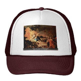 Christ On The Mount Of Olives Trucker Hat