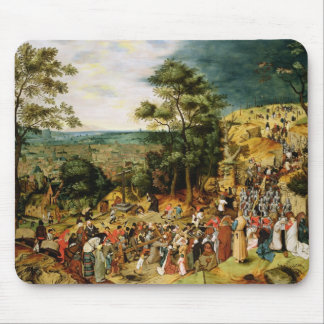 Christ on the Road to Calvary, 1607 Mouse Pad