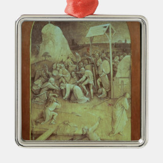 Christ on the Road to Calvary Metal Ornament
