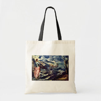 Christ On The Sea Of Galilee By Tintoretto Jacopo Bags