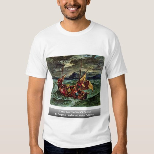 Christ On The Sea Of Galilee Tshirts