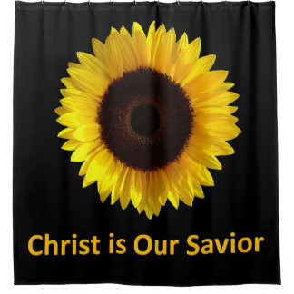 Christ - Our Savior Shower Curtain