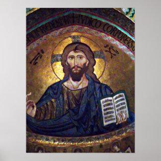 Christ Pancreator Poster