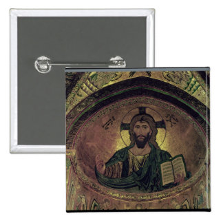 Christ Pantocrat in the apse Pinback Button