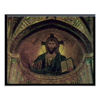 Christ Pantocrat in the apse Poster