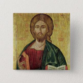 Christ Pantocrator, 1607 Pinback Button