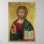 Christ Pantocrator, 1607 Poster