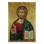 Christ Pantocrator, 1607 Print