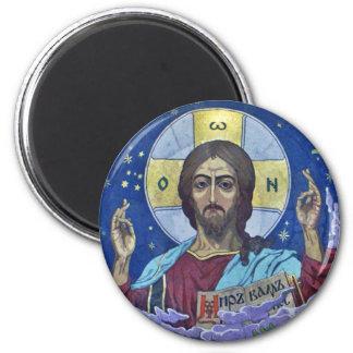 Christ Pantocrator 2 Inch Round Magnet