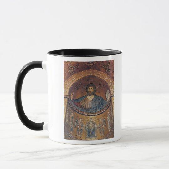 Christ Pantocrator and the Madonna Mug