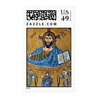 Christ Pantocrator By Meister Von Cefalã¹ (Best Qu Postage
